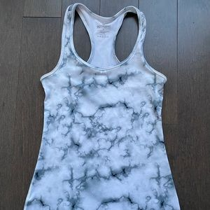 90 Degree Flex marble workout top